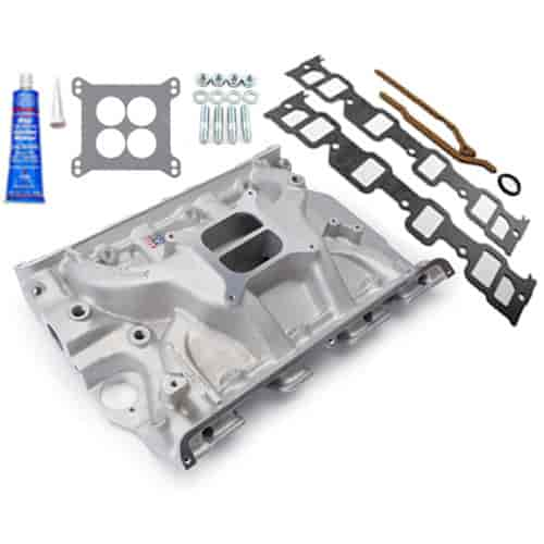 Edelbrock Performer 390 Ford FE Intake Manifold with Installation Kit