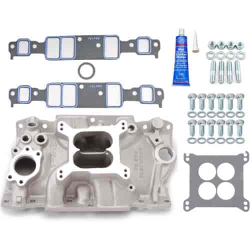 Edelbrock 2111K - Edelbrock Performer Intake Manifolds for Chevy