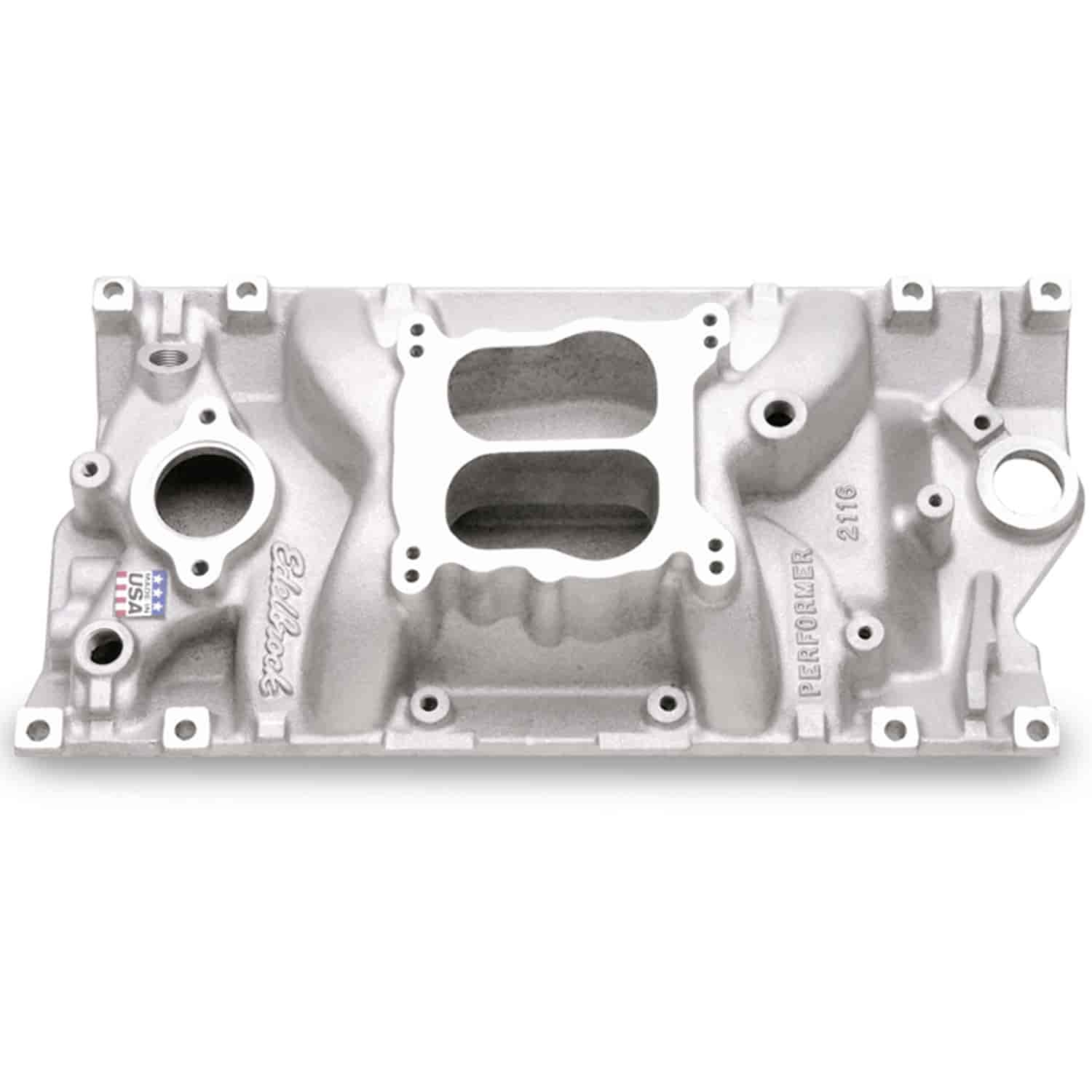 Edelbrock 2116 - Edelbrock Performer Intake Manifolds for Chevy