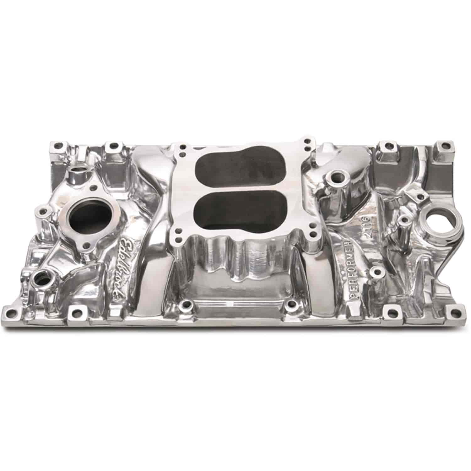 Edelbrock 21161 - Edelbrock Performer Intake Manifolds for Chevy