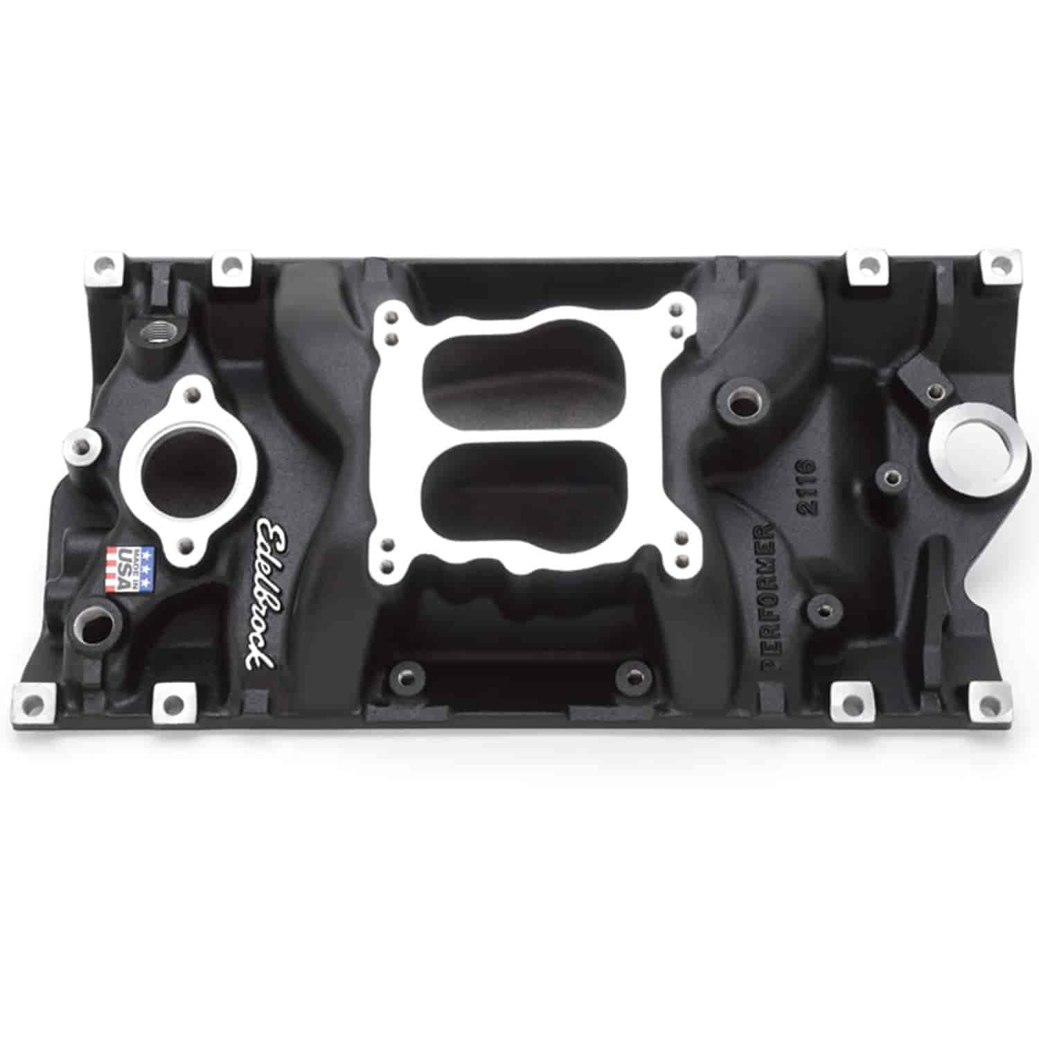 Edelbrock 21163 - Edelbrock Performer Intake Manifolds for Chevy