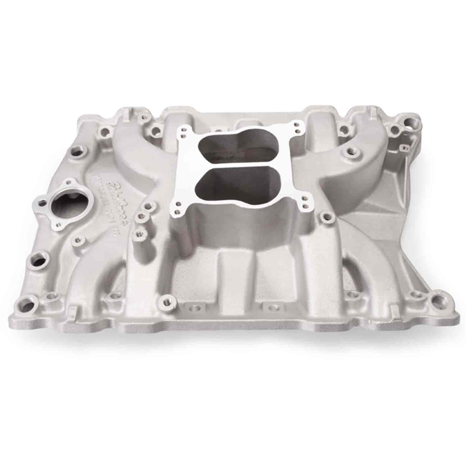 Edelbrock 2151 - Edelbrock Performer Manifolds for Olds
