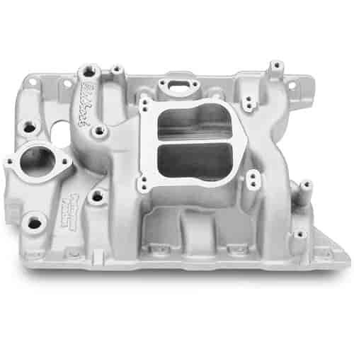 Edelbrock 2156 - Edelbrock Performer Manifolds for Pontiac