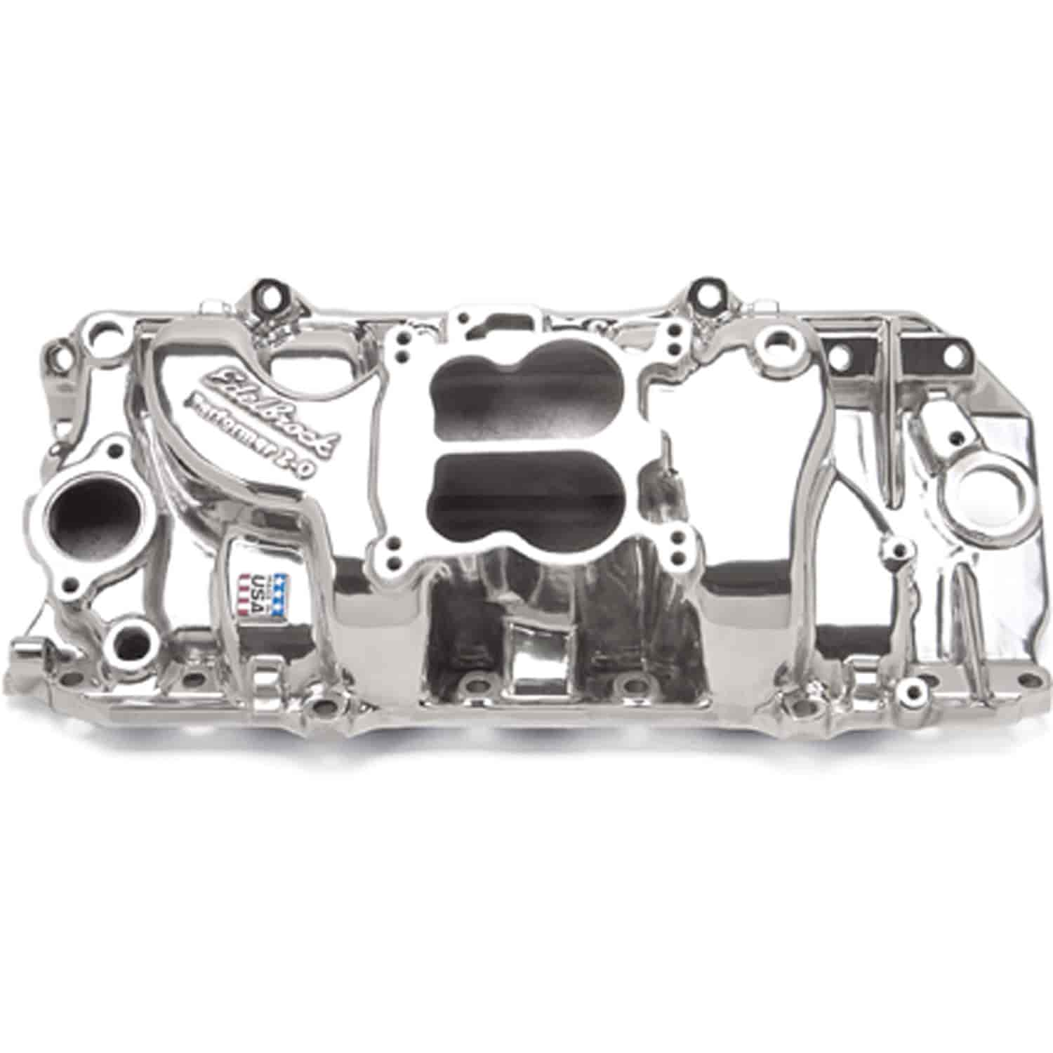 Edelbrock 21611 - Edelbrock Performer Intake Manifolds for Chevy