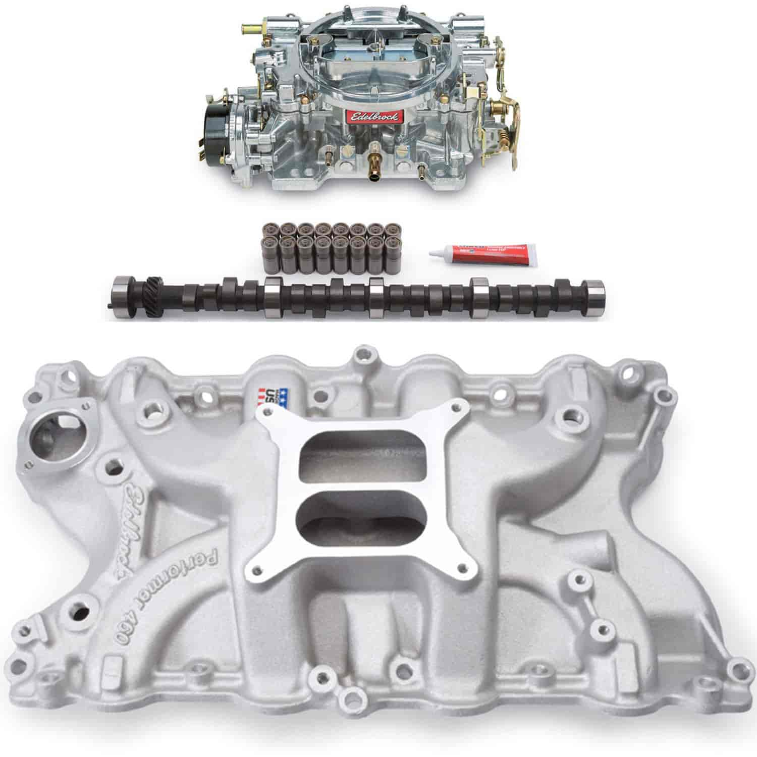 Edelbrock Big Block Ford 429/460 Performer Power Package