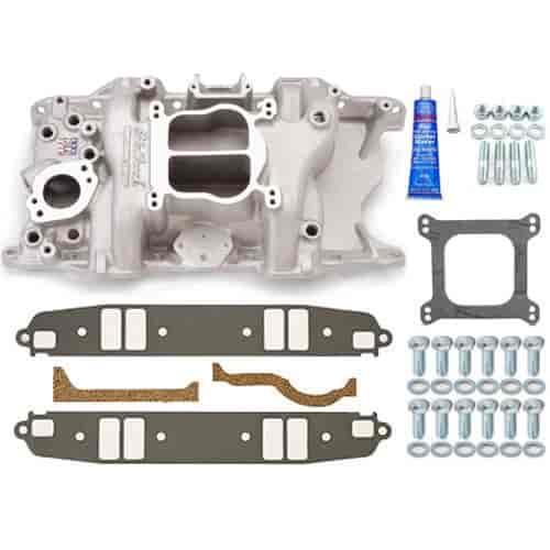 Edelbrock Performer 318/360 Intake Manifold w/Installation Kit SB-Chrysler  318-360ci