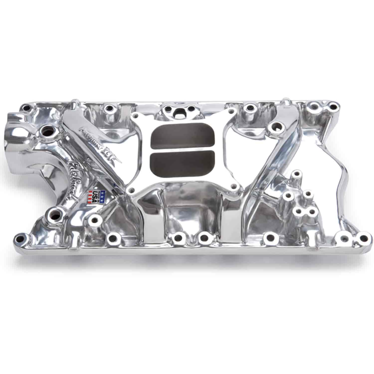 Edelbrock 21811 - Edelbrock Performer Manifolds for Ford