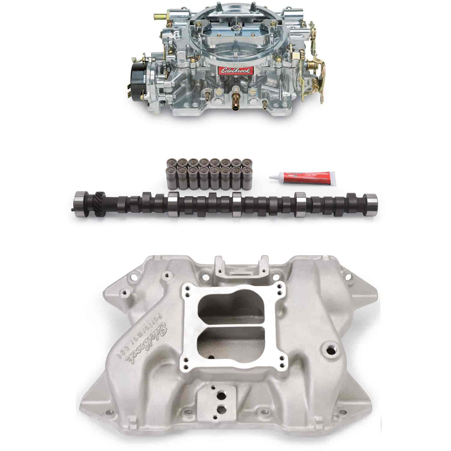 Edelbrock 2186PK - Edelbrock Performer Power Packages