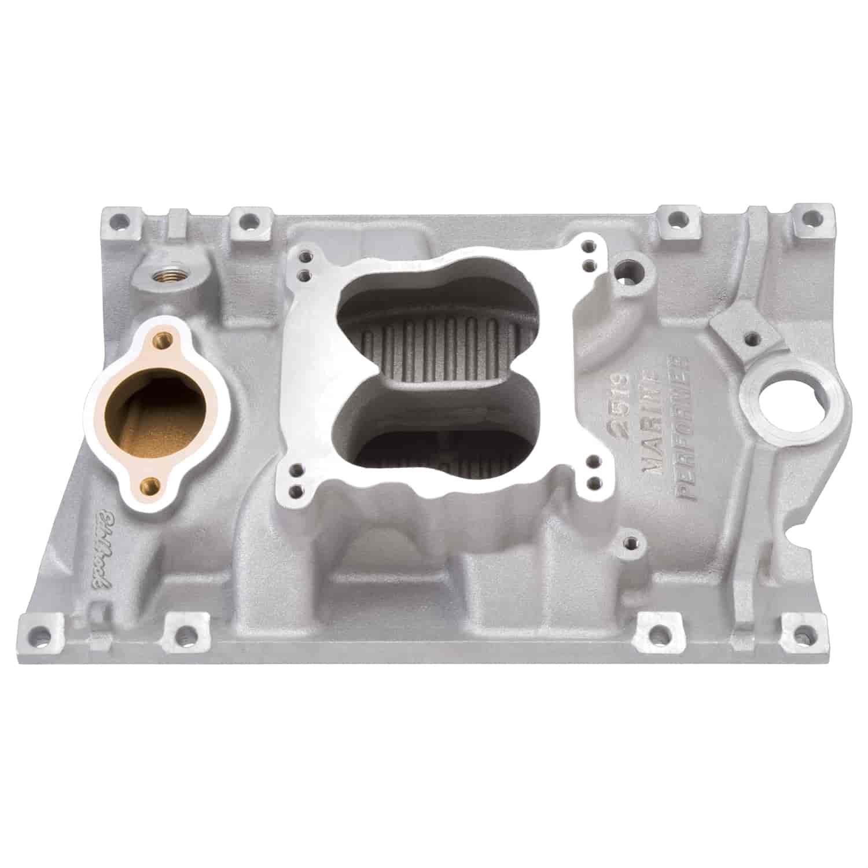 Edelbrock 2519: Performer Marine Intake Manifold Chevy 4.3