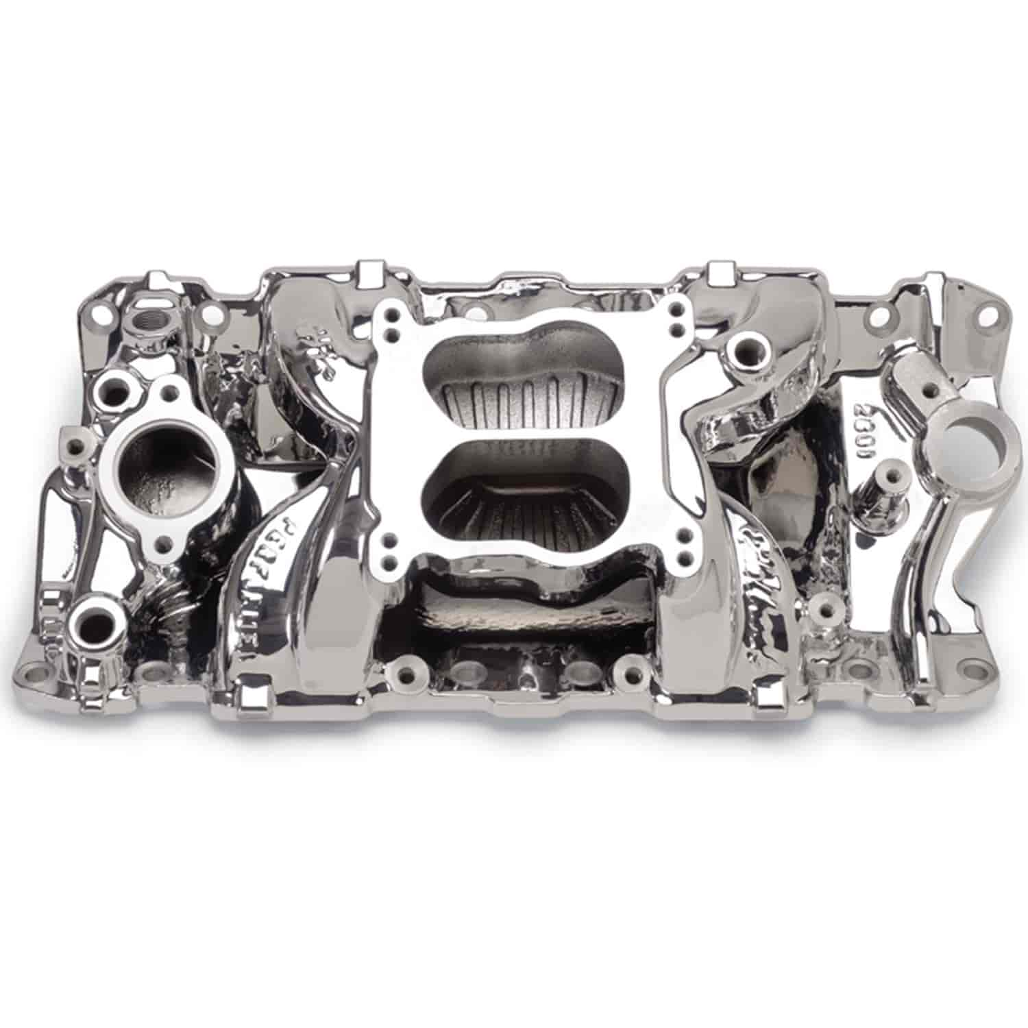 Edelbrock 26014 - Edelbrock Performer Air-Gap Intake Manifold for Chevy