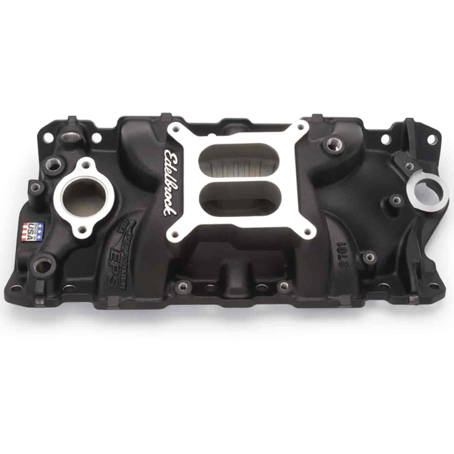 Edelbrock 27013: Performer EPS Black Intake Manifold For