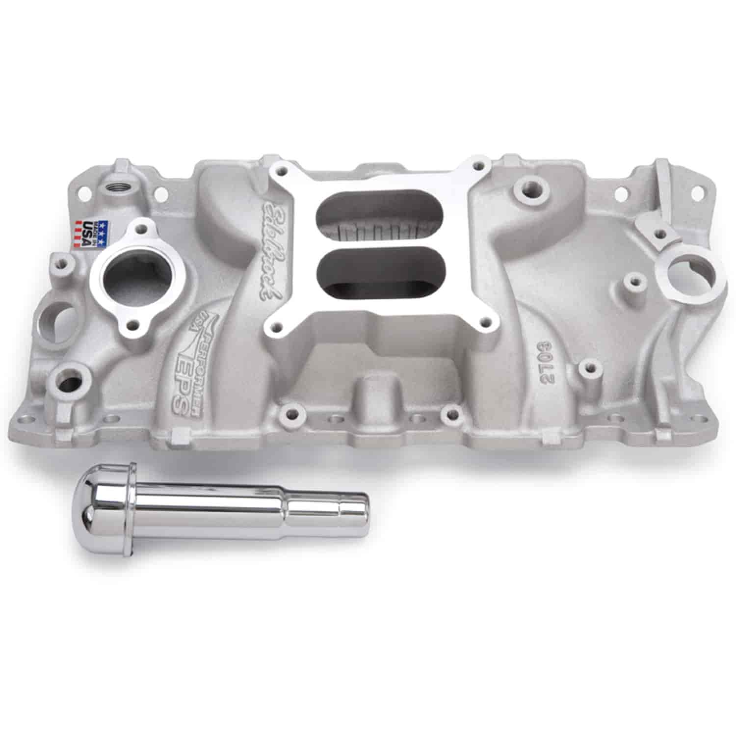Edelbrock 2703: Performer EPS Intake Manifold For SBC With