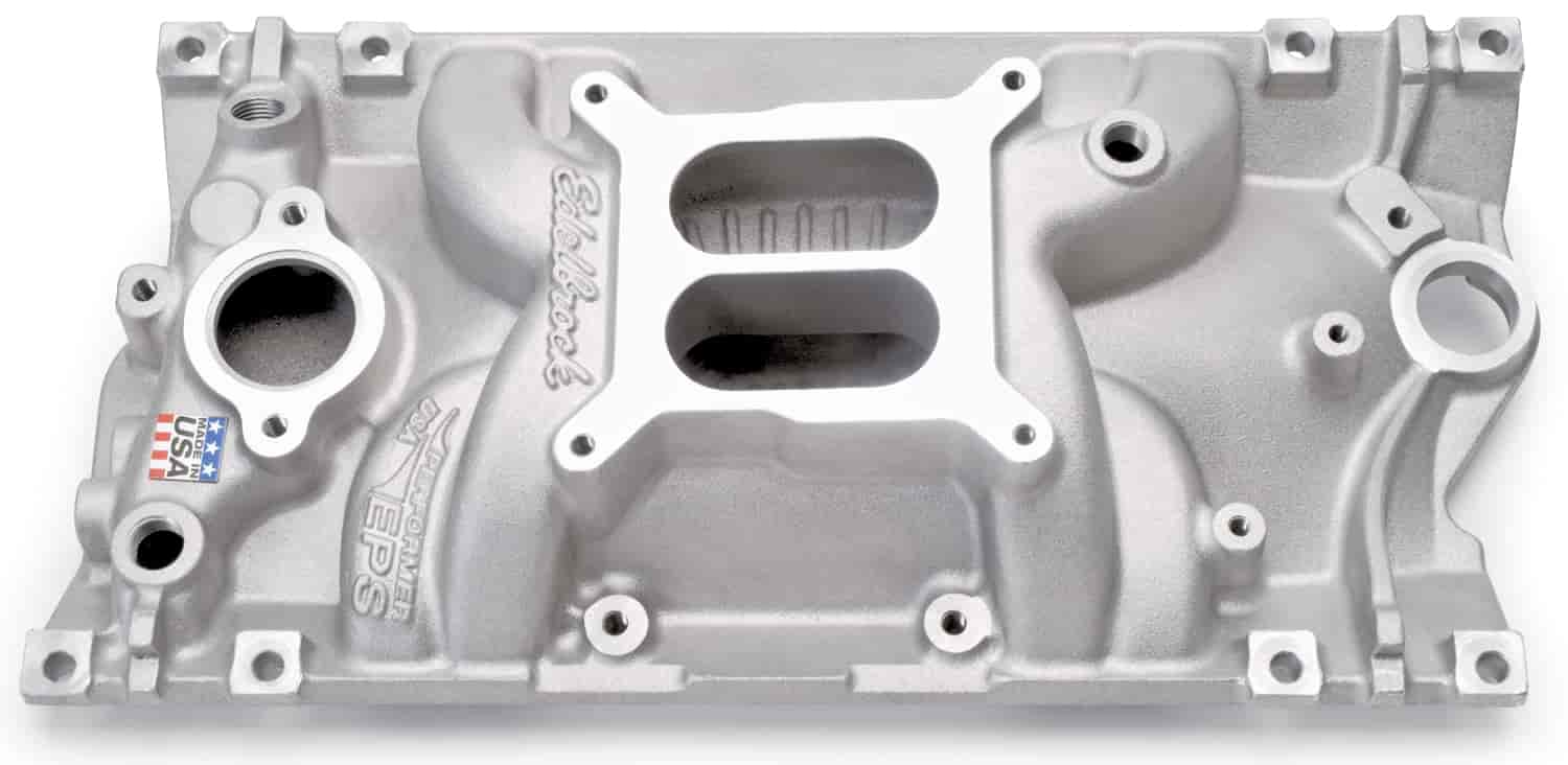 Edelbrock 27161 - Edelbrock Performer EPS Intake Manifolds for Chevrolet