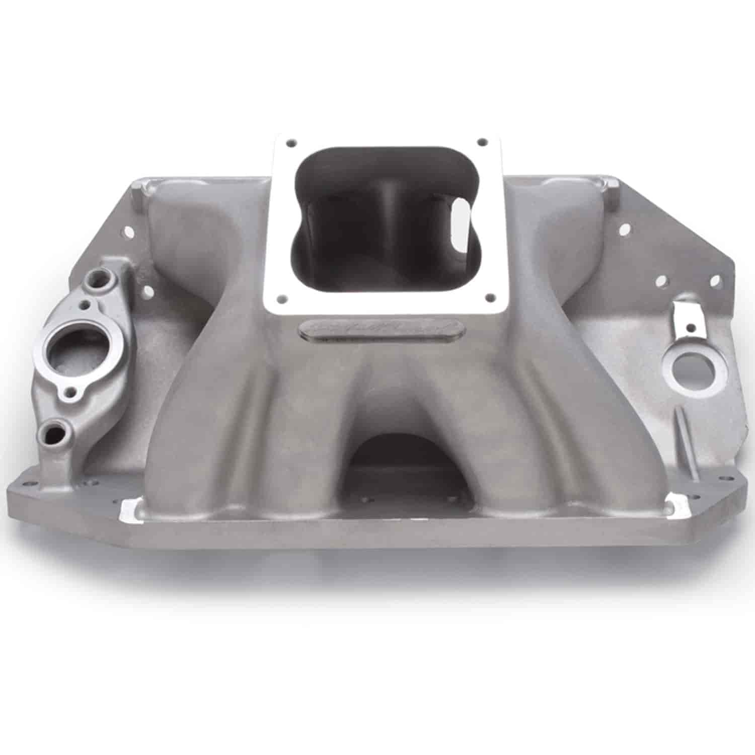 Edelbrock 28002 - Edelbrock Big Victor Spread-Port Manifolds