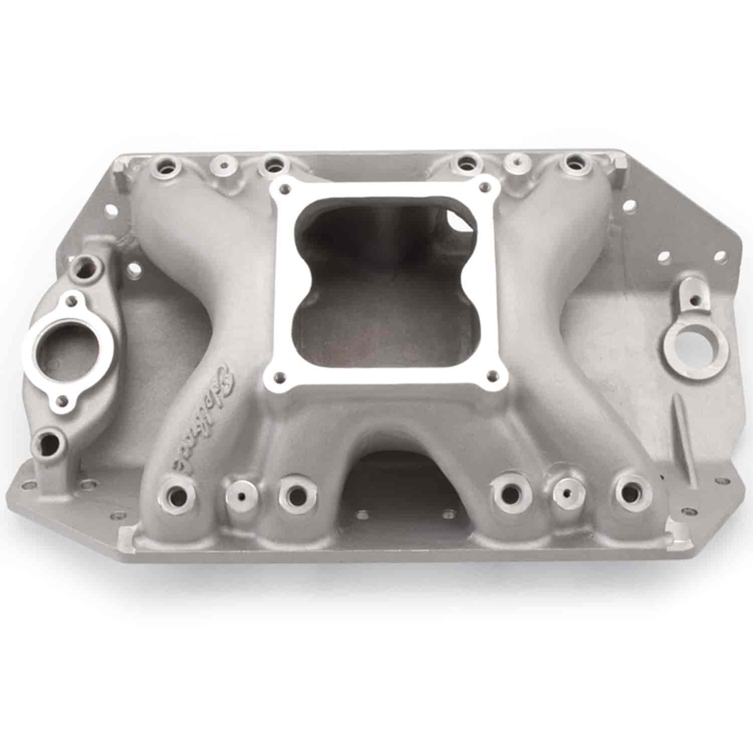 Edelbrock 28015 - Edelbrock Big Victor Spread-Port Manifolds