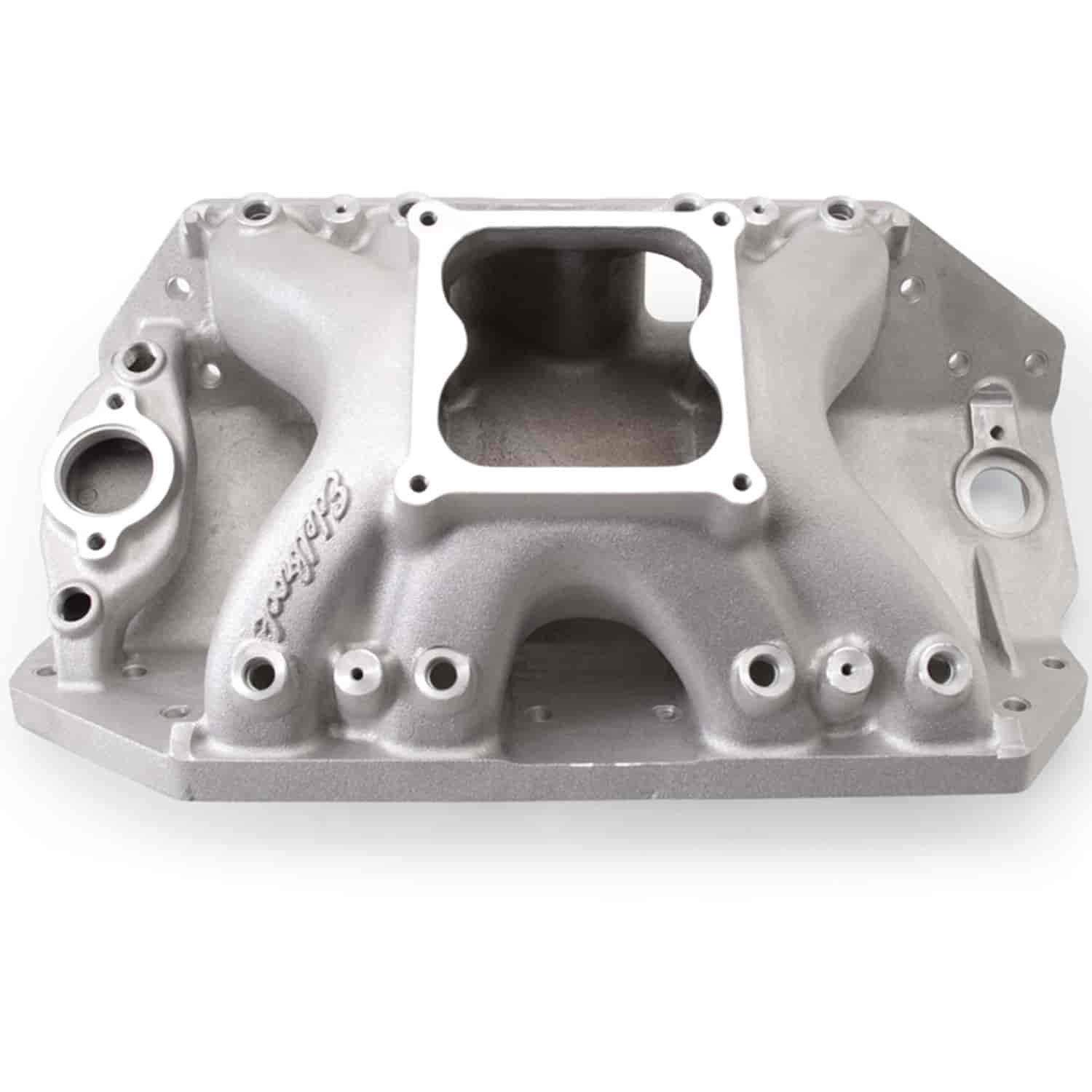 Edelbrock 28025 - Edelbrock Big Victor Spread-Port Manifolds