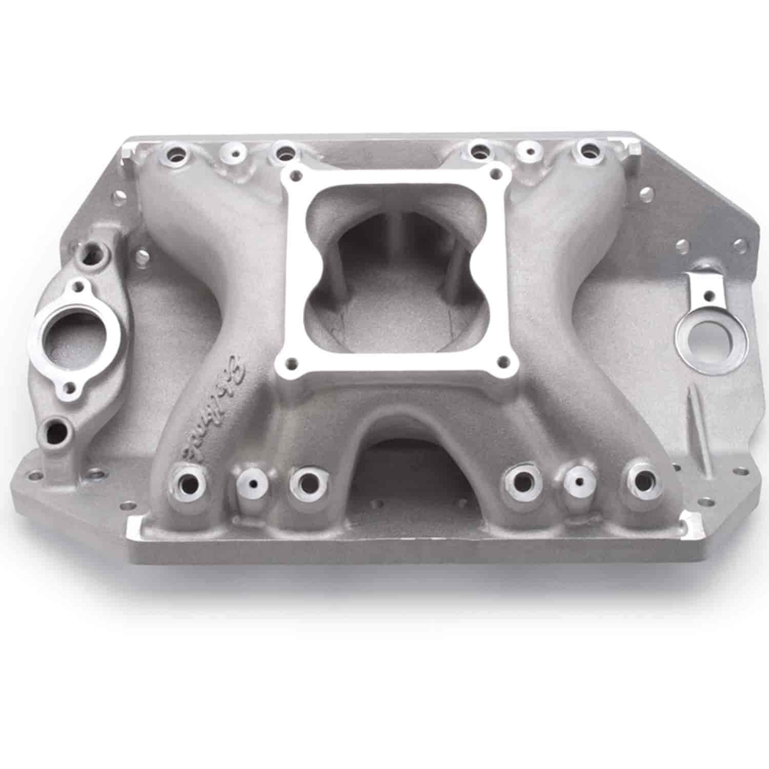 Edelbrock 28045 - Edelbrock Big Victor Spread-Port Manifolds