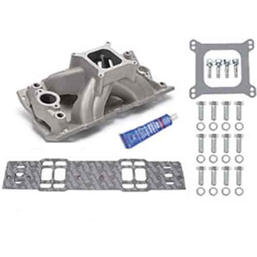 Edelbrock 2814K - Edelbrock Victor Series Intake Manifolds for Small Block Chevy