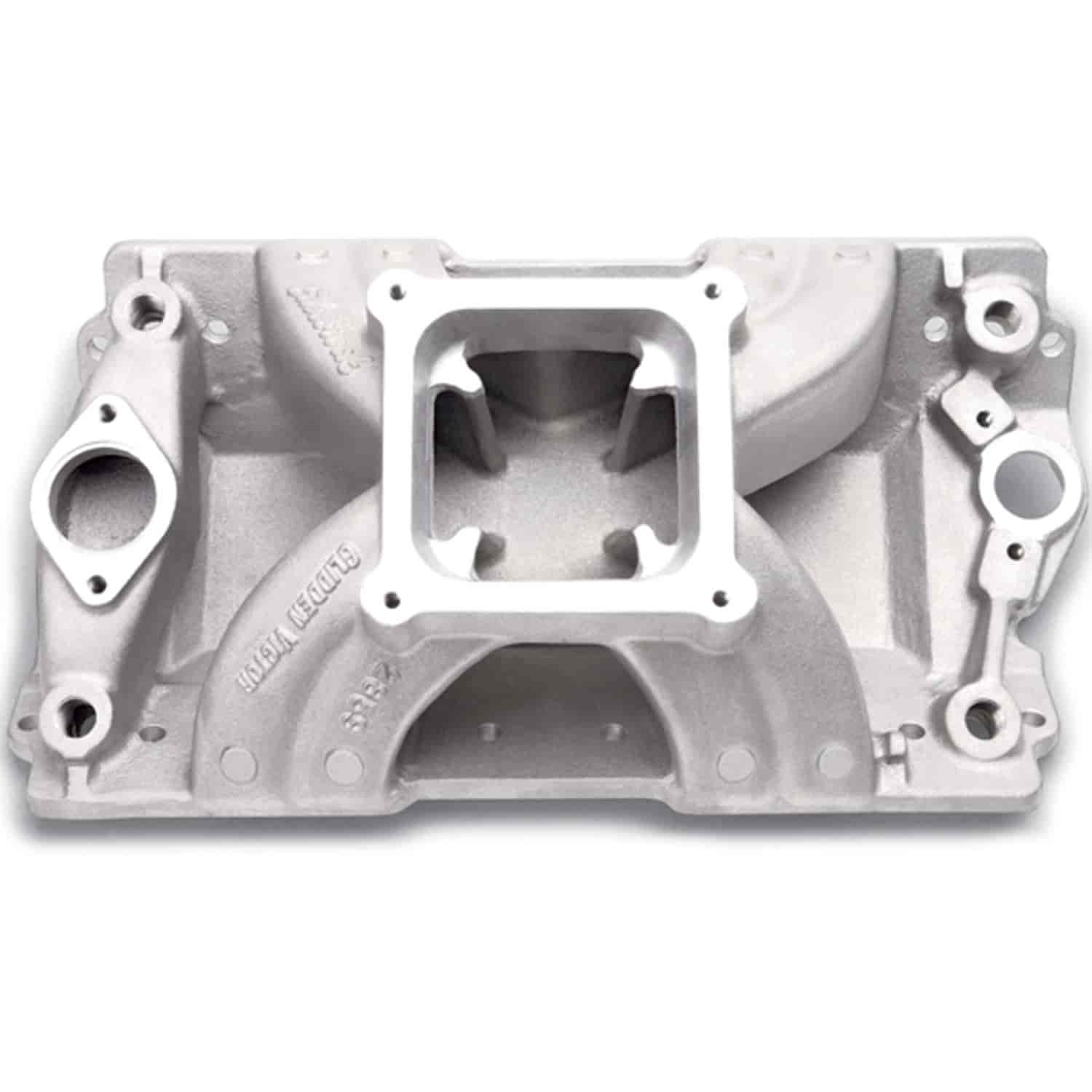 Edelbrock 2859 - Edelbrock Victor Series Intake Manifolds for Small Block Chevy