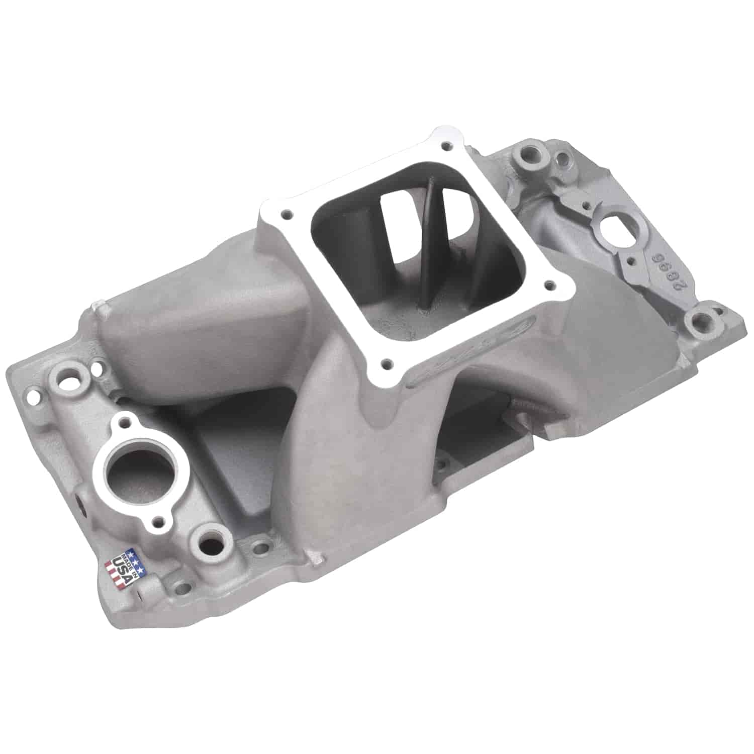 Edelbrock 2896 - Edelbrock Super Victor Series Big Block Chevy Intake Manifolds