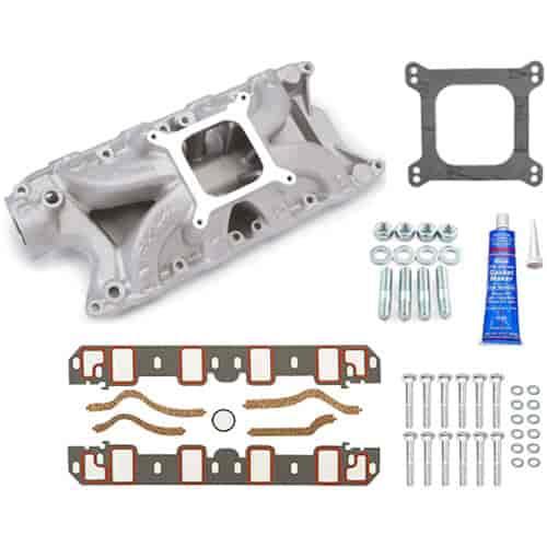 Edelbrock 2921K Victor Jr. 302 Intake Manifold Kit Small