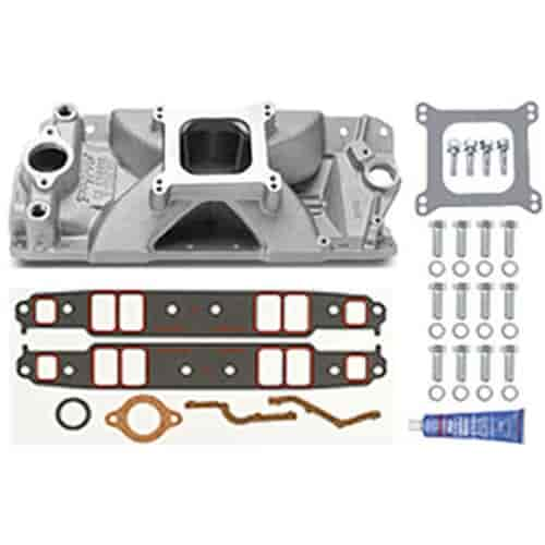 Edelbrock 2972K - Edelbrock Victor Series Intake Manifolds for Small Block Chevy