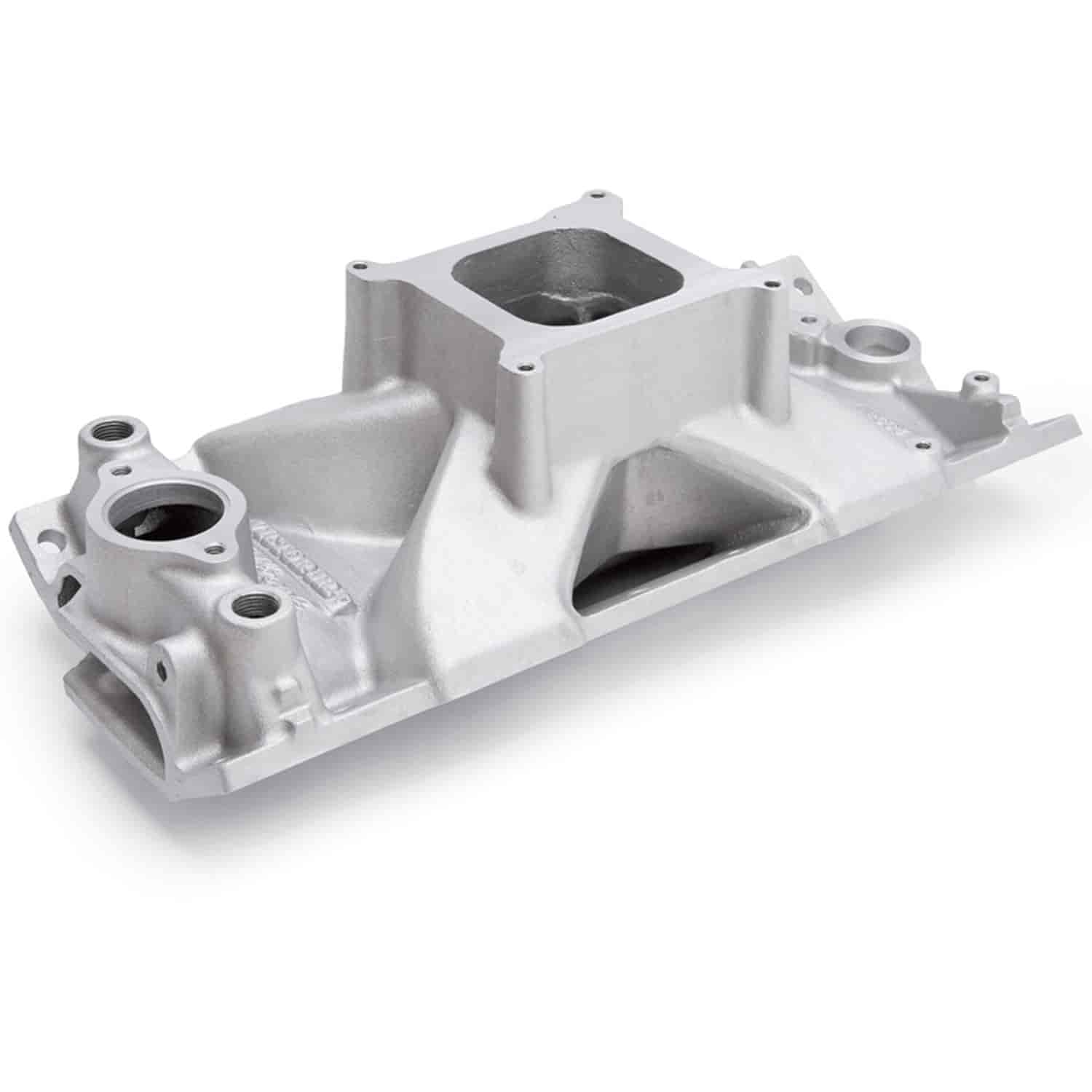 Edelbrock Victor Jr  Tall Intake Manifold Small Block Chevy