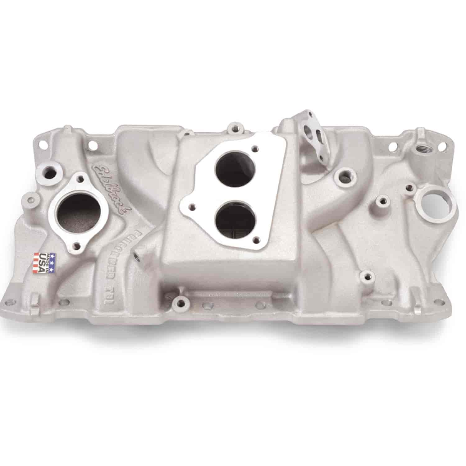 Edelbrock 3704 - Edelbrock Performer Manifolds and Kits for Chevrolet TBI