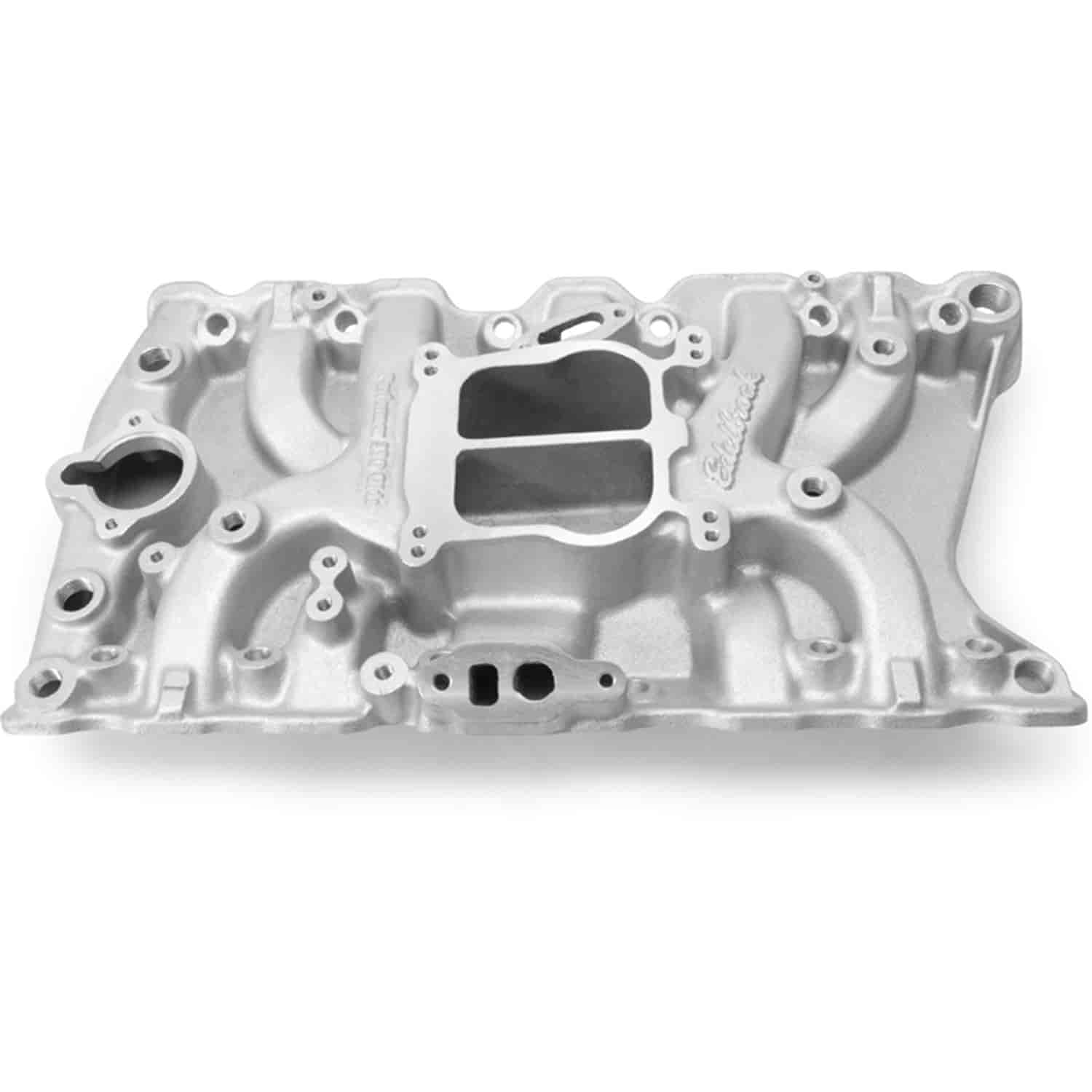 Edelbrock 3711 - Edelbrock Performer Manifolds for Olds
