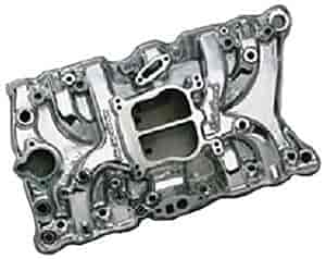 Edelbrock 37111 - Edelbrock Performer Manifolds for Olds