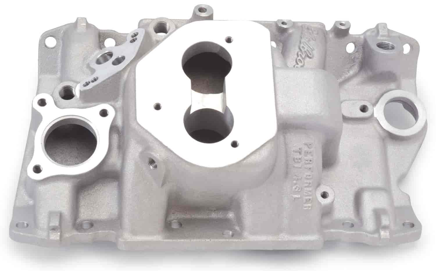 Edelbrock 3713 - Edelbrock Performer Manifolds and Kits for Chevrolet TBI