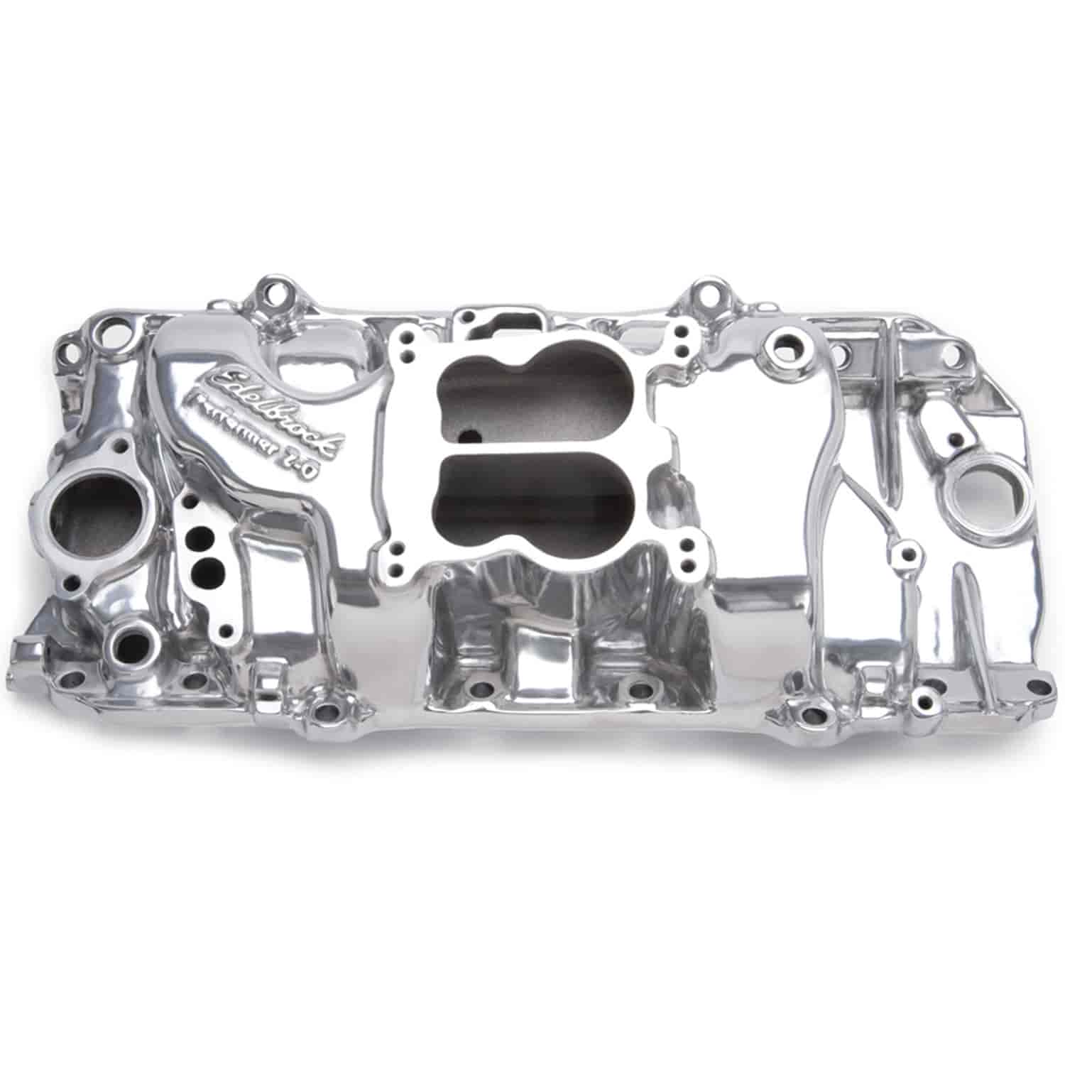 Edelbrock 37611 - Edelbrock Performer Intake Manifolds for Chevy