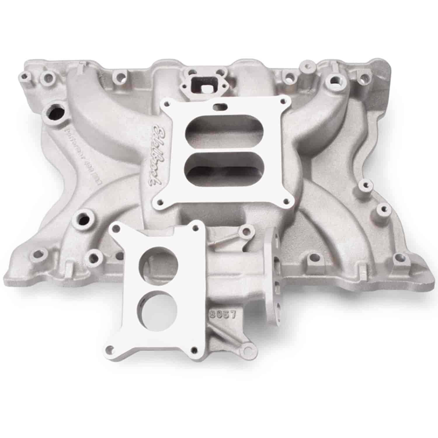 Edelbrock 3771 Performer 400 Egr Ford Intake Manifold Jegs 1980 Bronco Air Box
