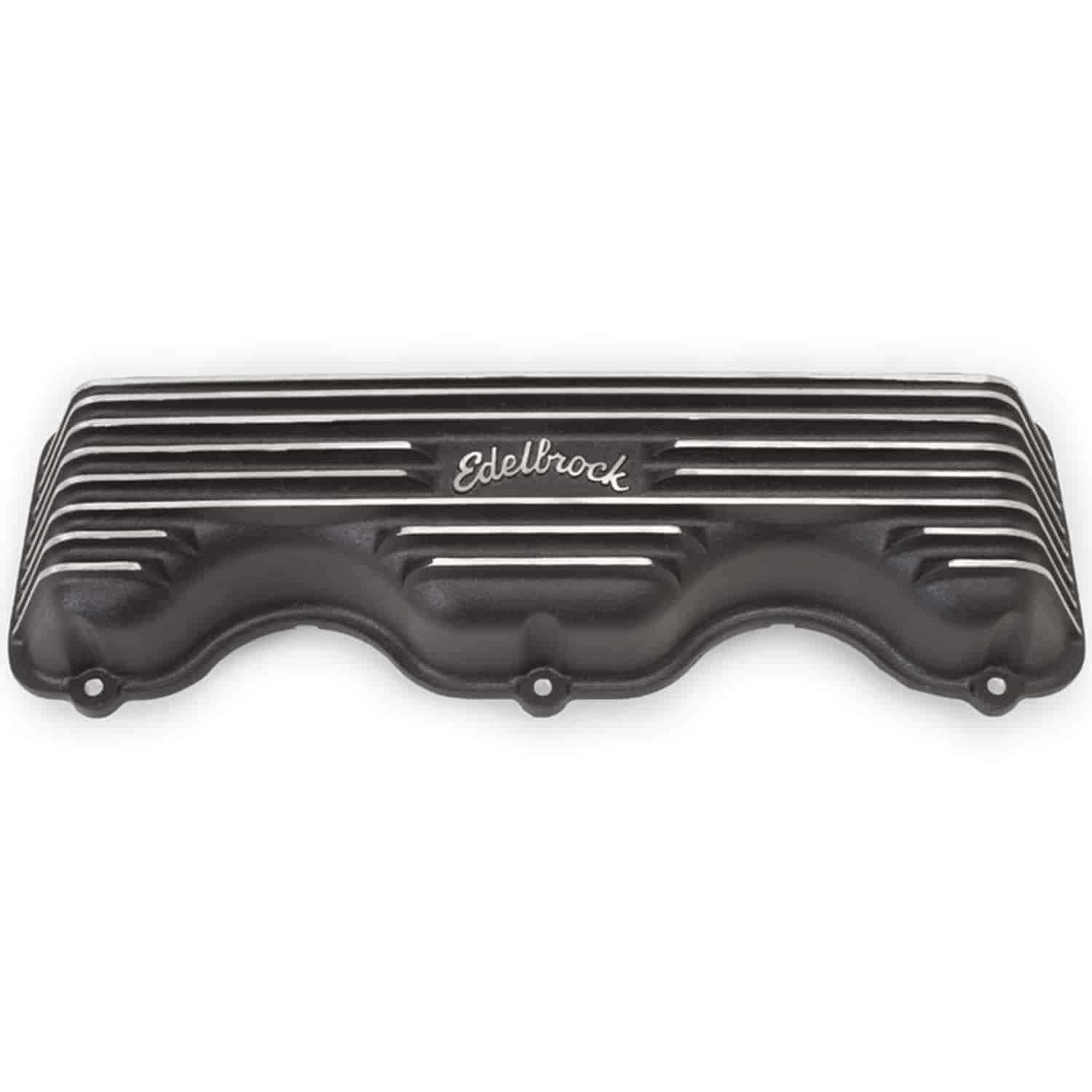 Edelbrock 41403 - Edelbrock Classic Series Valve Covers & Air Cleaners
