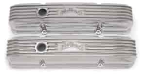 Edelbrock 4144 - Edelbrock Classic Series Valve Covers & Air Cleaners