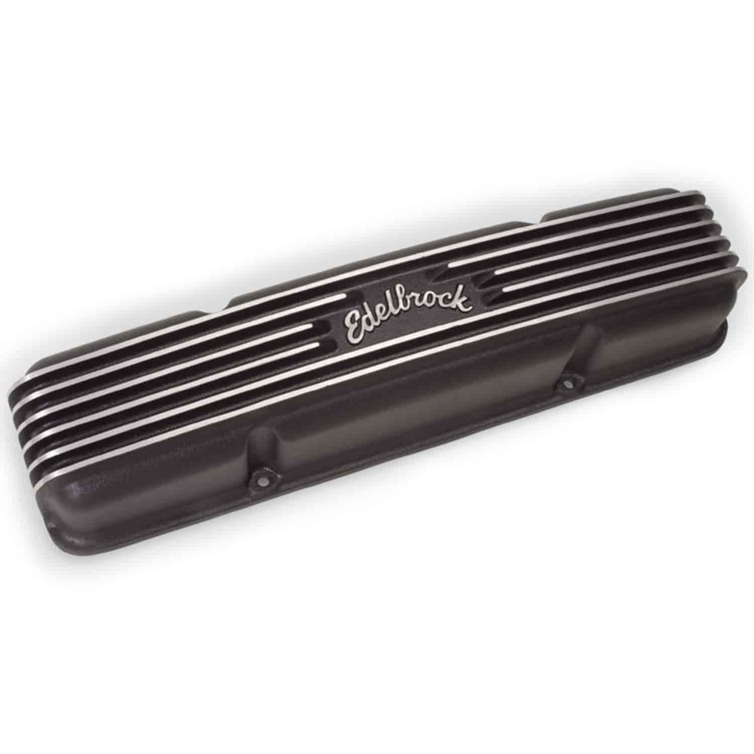 Edelbrock 41453 - Edelbrock Classic Series Valve Covers & Air Cleaners