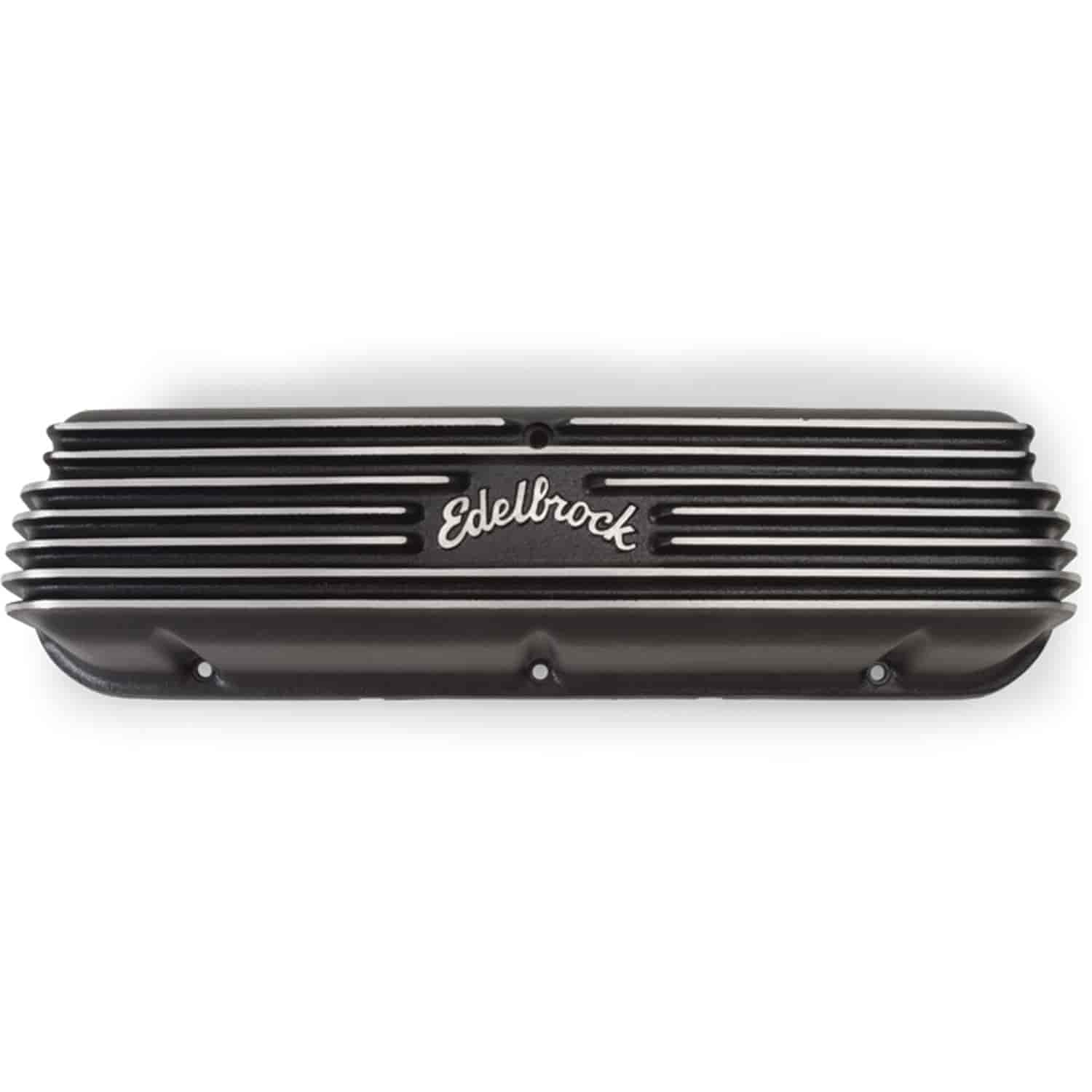 Edelbrock 41603 - Edelbrock Classic Series Valve Covers & Air Cleaners