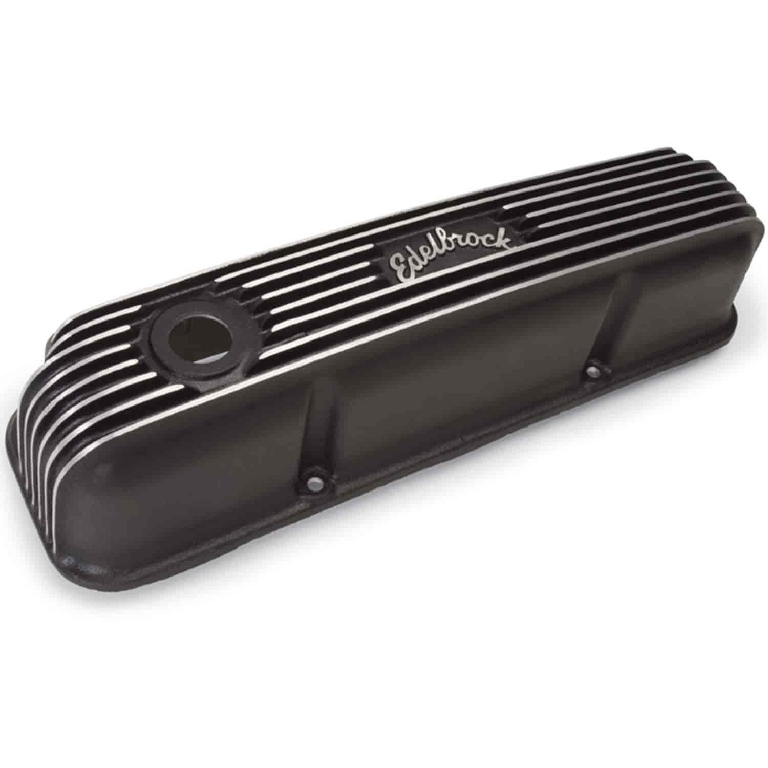Edelbrock 41623 - Edelbrock Classic Series Valve Covers & Air Cleaners