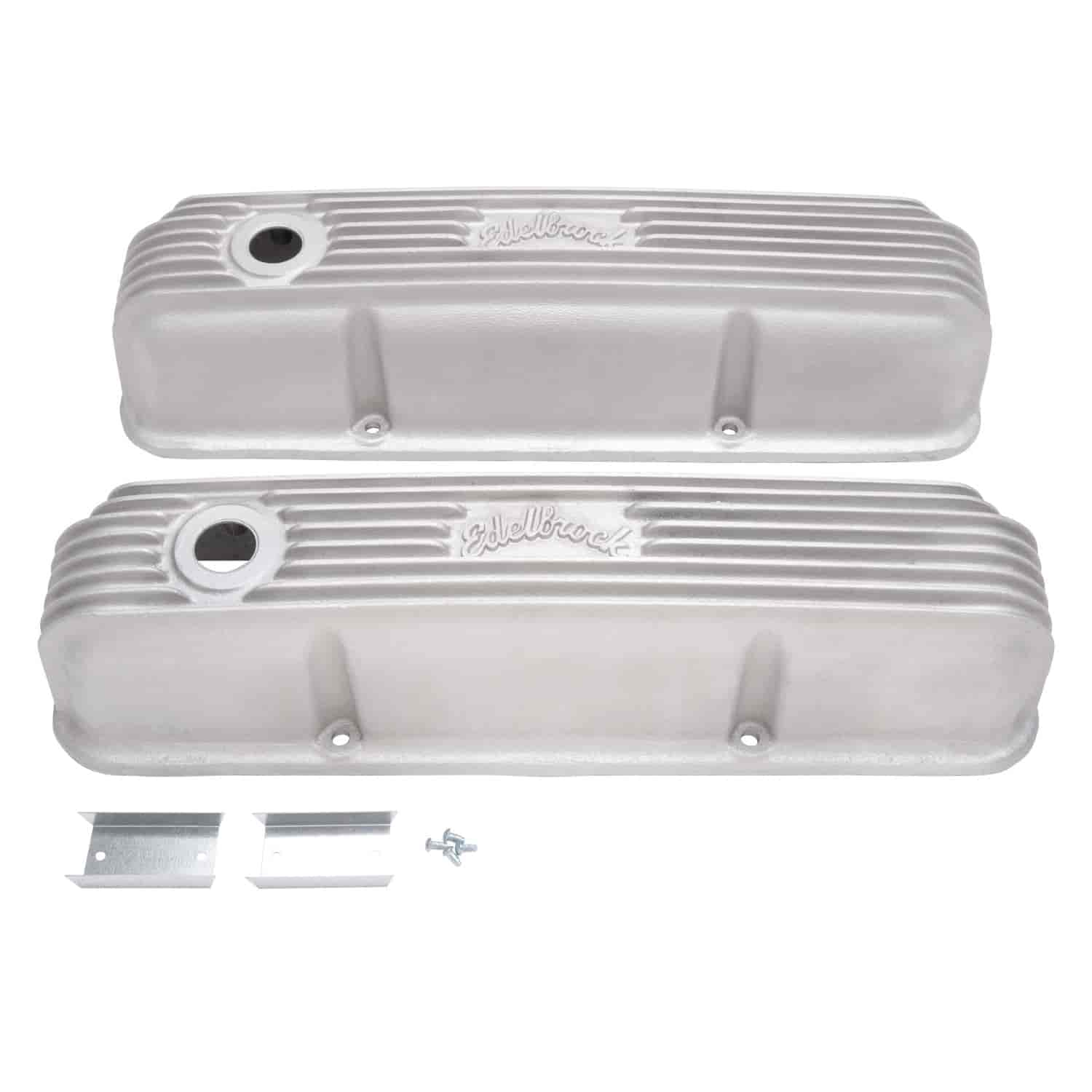 Edelbrock 41629 - Edelbrock Classic Series Valve Covers & Air Cleaners