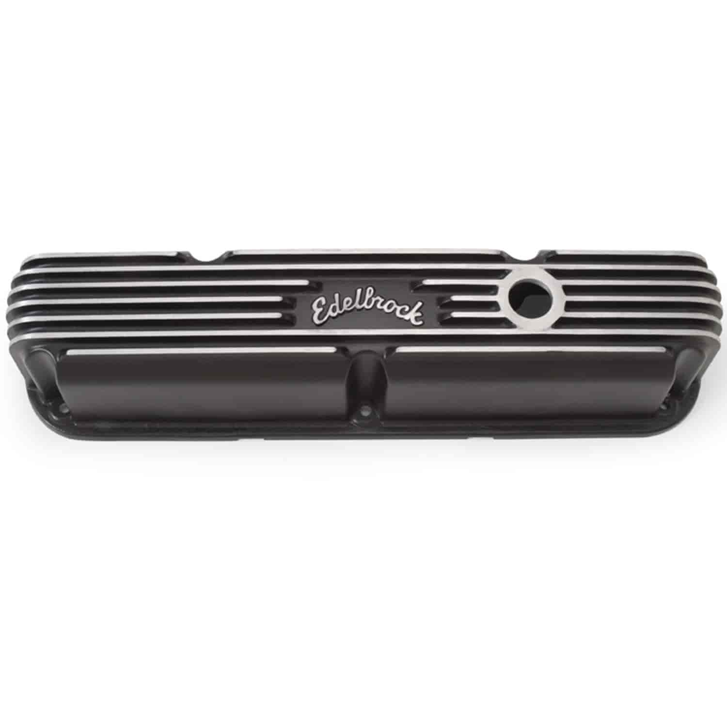 Edelbrock 41763 - Edelbrock Classic Series Valve Covers & Air Cleaners