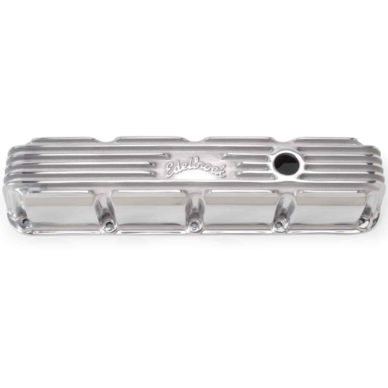 Edelbrock 4177 - Edelbrock Classic Series Valve Covers & Air Cleaners
