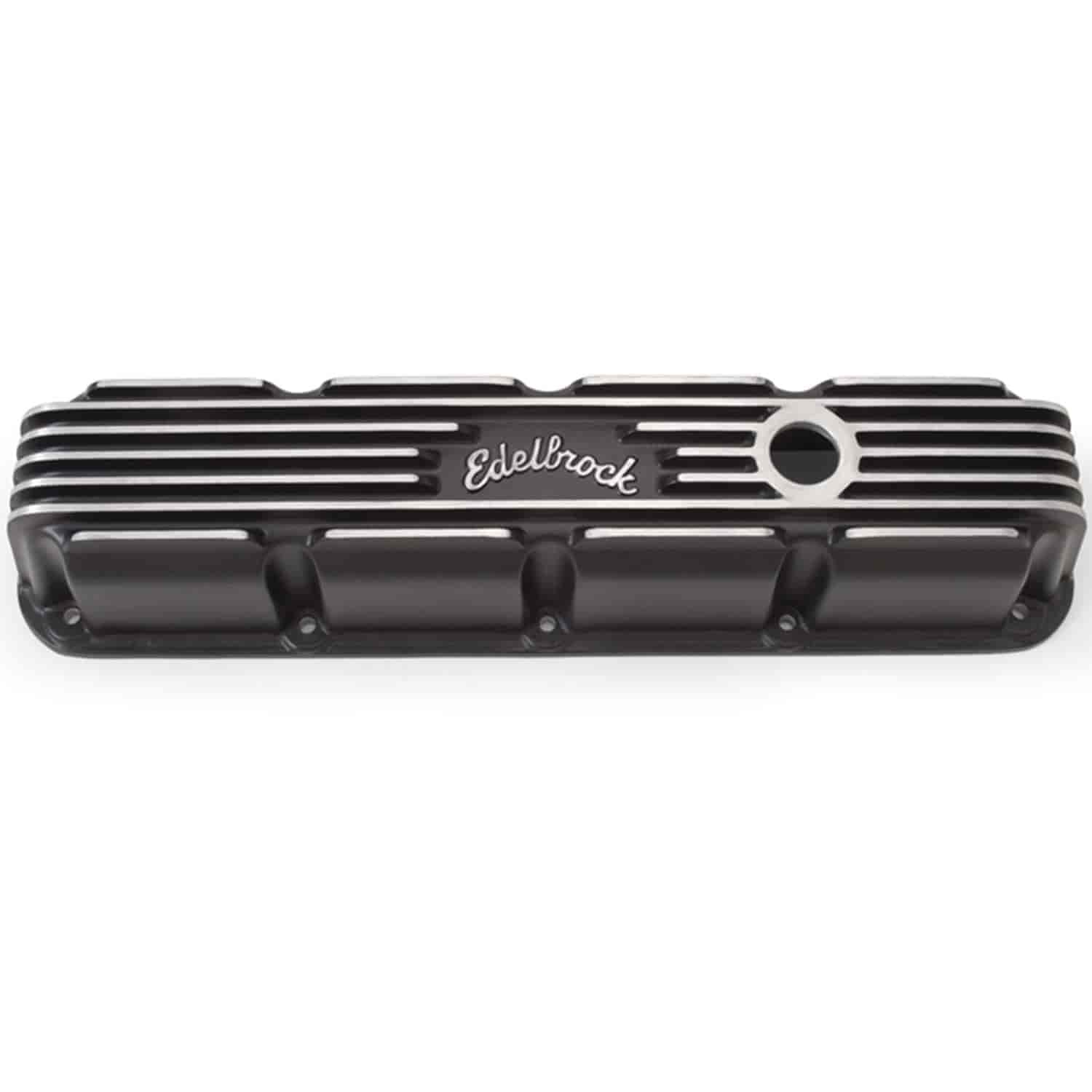 Edelbrock 41773 - Edelbrock Classic Series Valve Covers & Air Cleaners