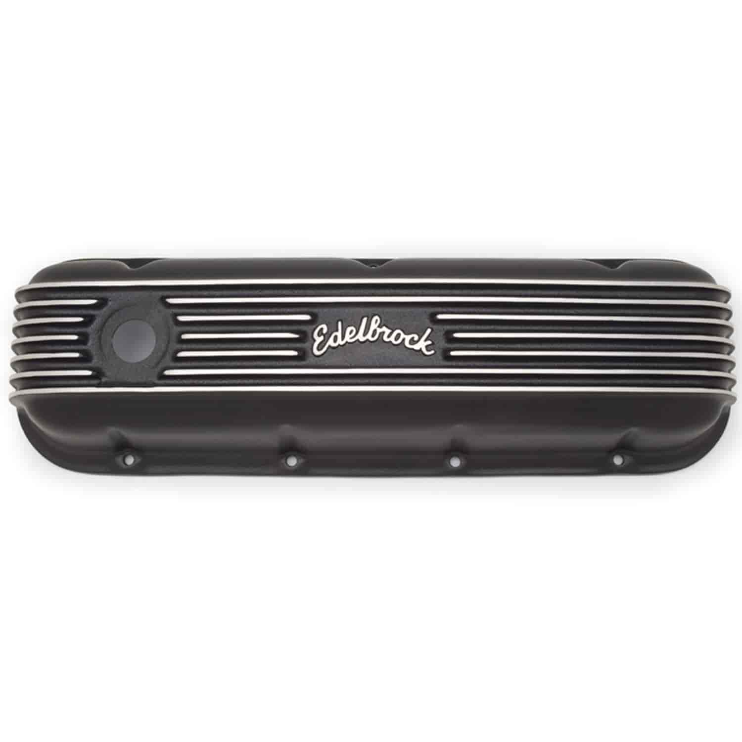 Edelbrock 41853 - Edelbrock Classic Series Valve Covers & Air Cleaners