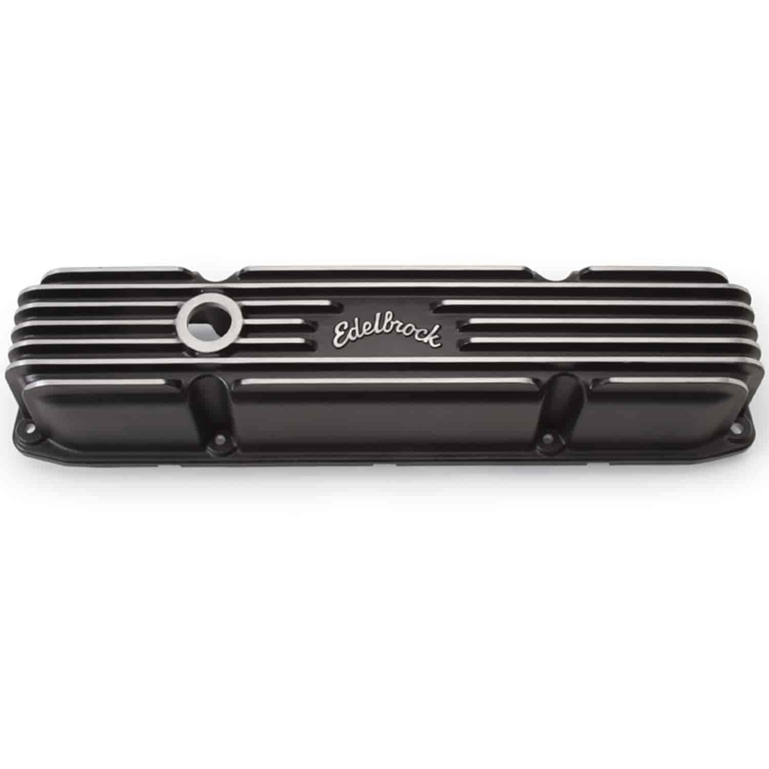 Edelbrock 41923 - Edelbrock Classic Series Valve Covers & Air Cleaners