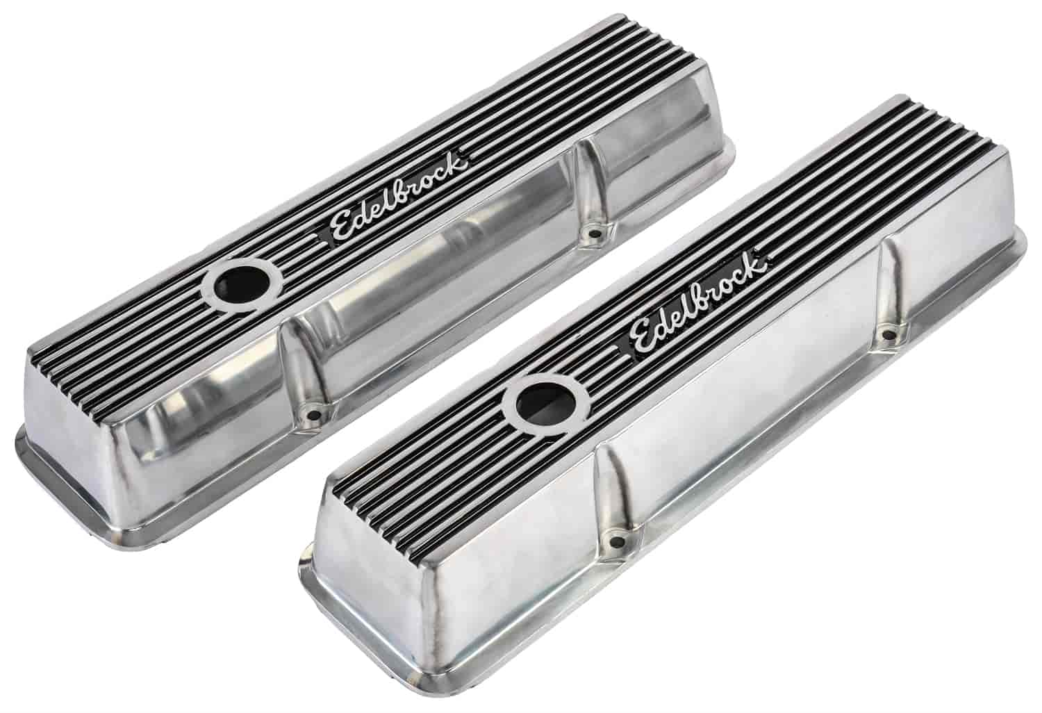 Edelbrock 4262 Elite Ii Valve Covers 1959 1986 Sbc 262 400 Jegs 1966 Chevy Nova Which Froze With An Alternatorwiring