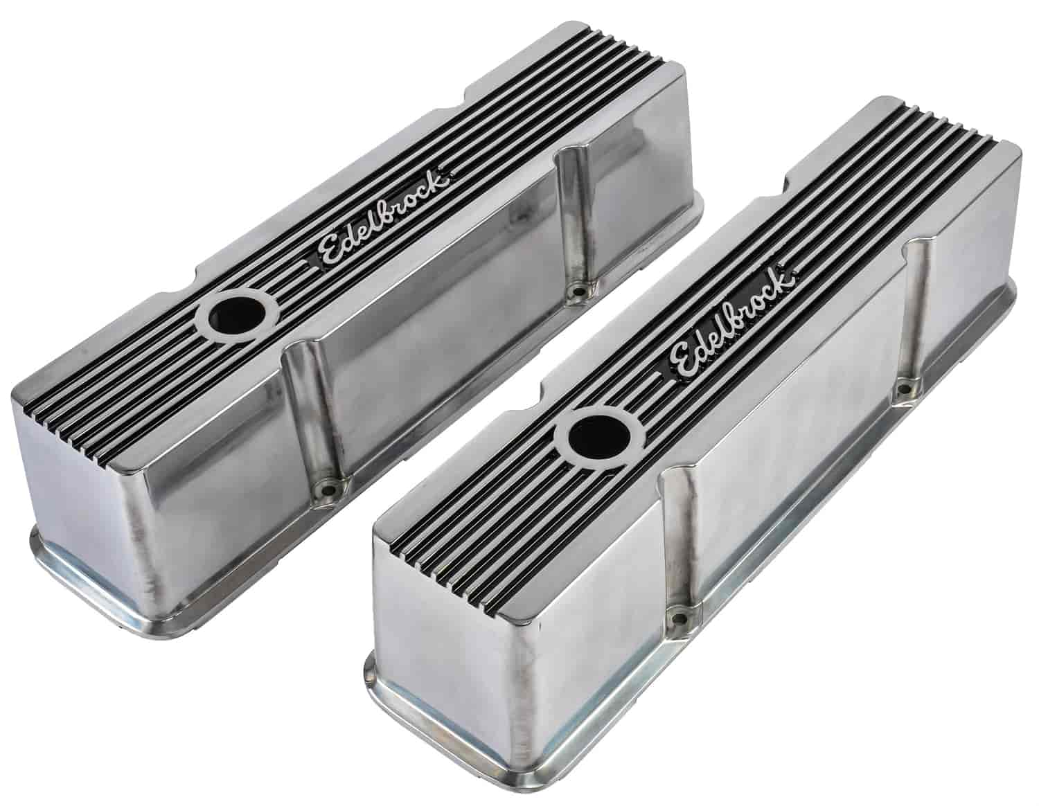 Edelbrock 4263 - Edelbrock Elite II Series Valve Covers And Air Cleaners