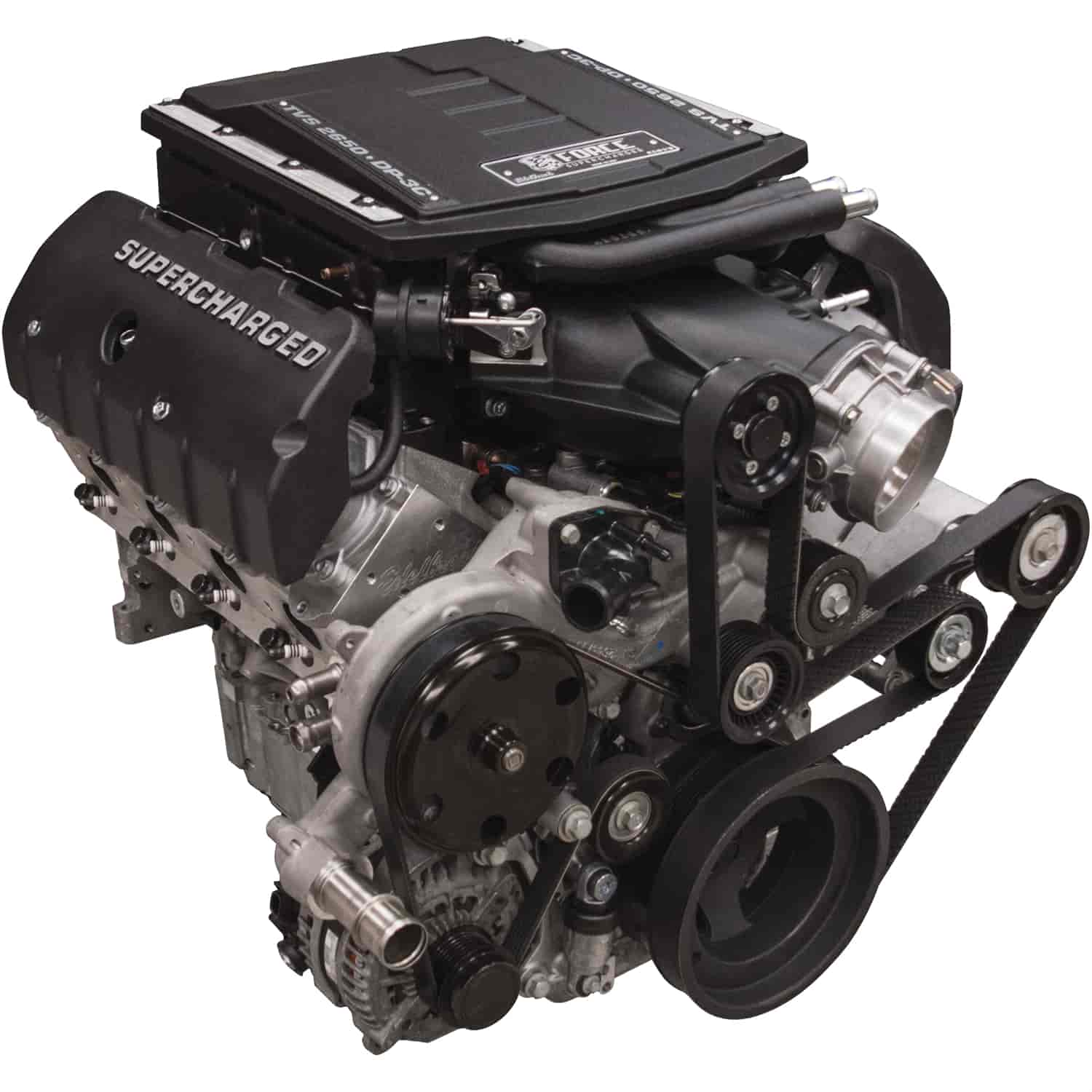 Gm Crate Engines >> Edelbrock E Force Supercharged Gm Lt 416 Crate Engine