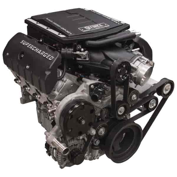 1994 Camaro Supercharger Kit: Edelbrock Supercharged LT 416 Crate Engine 416ci/851HP