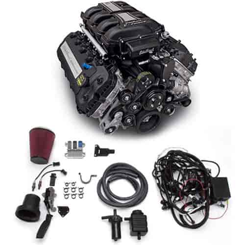 Edelbrock 46770 - Edelbrock Supercharged 5.0L Coyote Crate Engines 700HP/606TQ