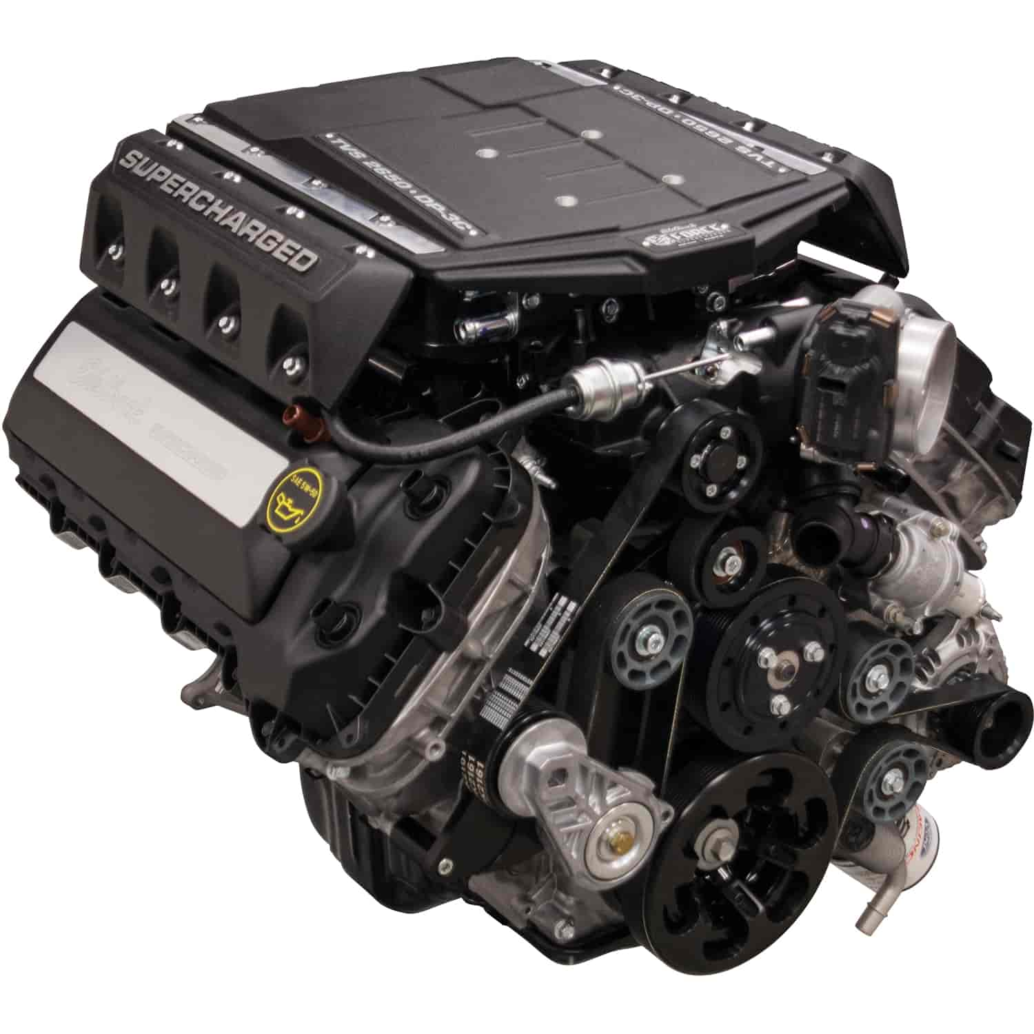 Edelbrock 468900 E Force Supercharged Ford Coyote 5 0l
